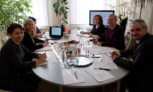 The first project management group meeting (18.03.2020)